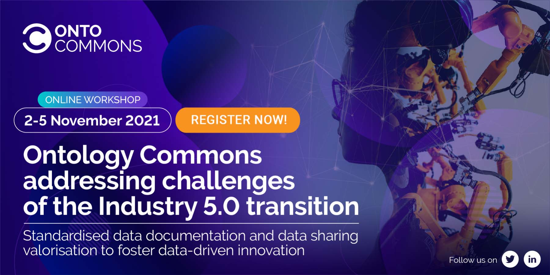 Ontology Commons Addressing Challenges of the Industry 5.0 Transition