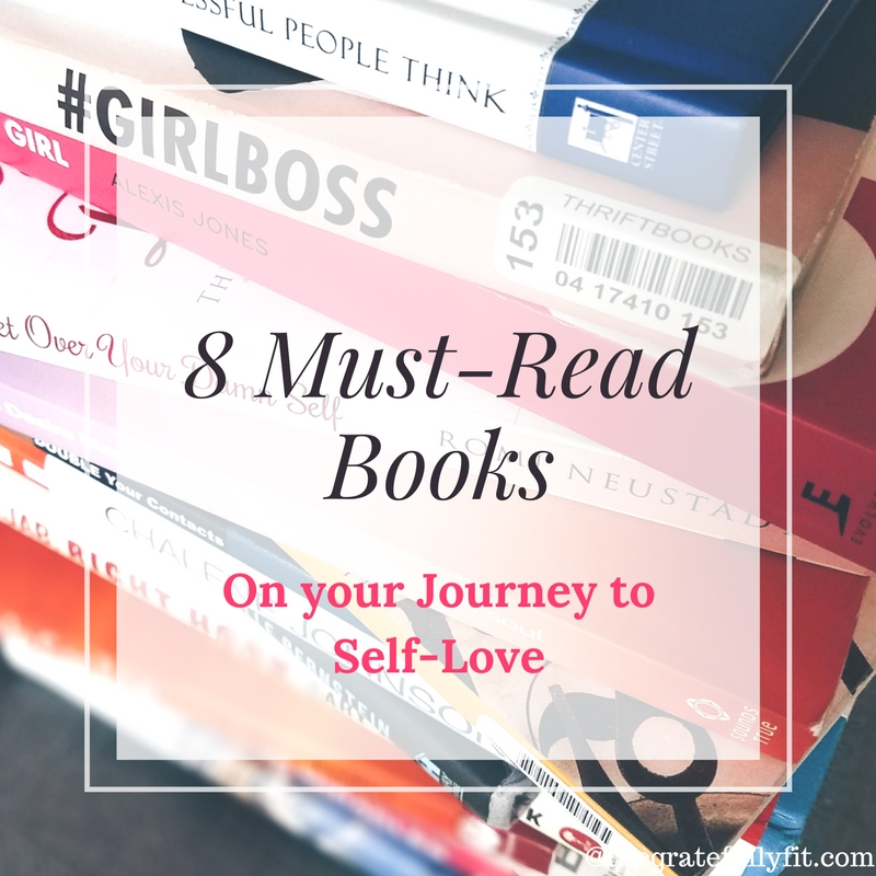 8 Must-Read Books on your Journey to Self-Love