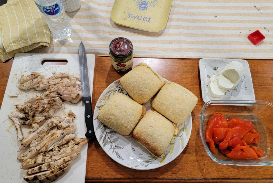 Chicken Ciabatta Sandwich Ingredients