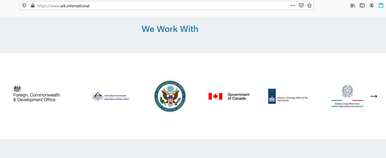 ARK contractor Syria UK US Australia Canada