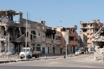 Sirte Libya war aftermath