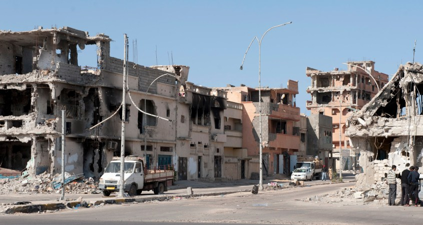 Sirte Libya war aftermath