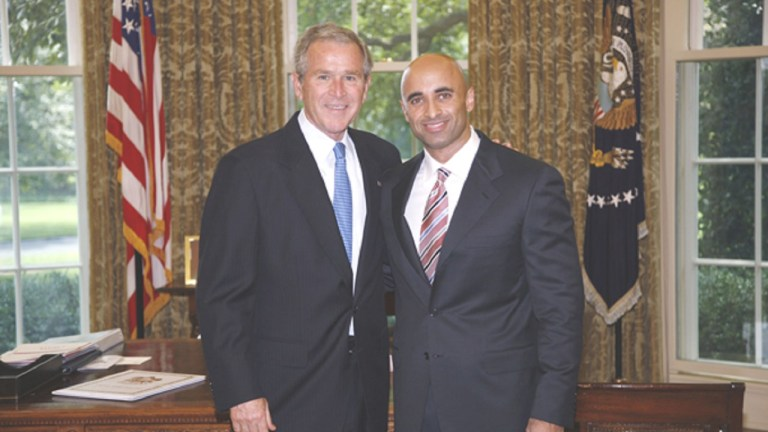 UAE Yousef al Otaiba George Bush White House