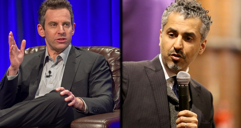 sam harris maajid nawaz syria intervention