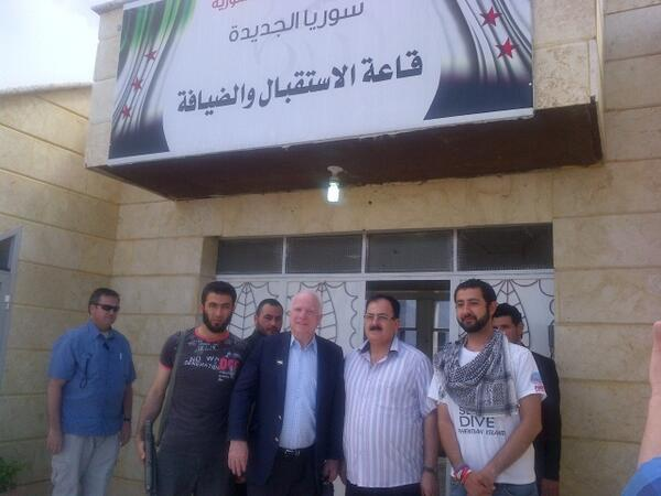 John McCain Syrian rebels