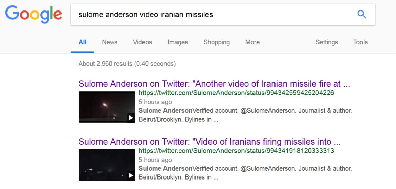 google sulome anderson video iranian missiles