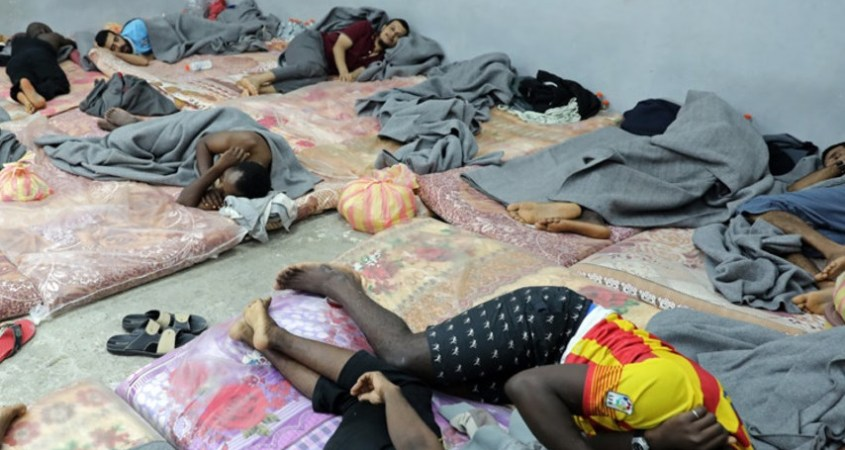 libya detention un