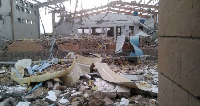 msf cholera treatment center yemen