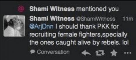 shamiwitness kurd rapes tweet