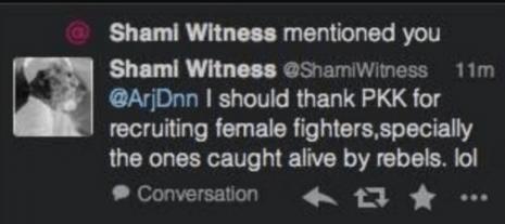 shamiwitness kurd rapes tweet