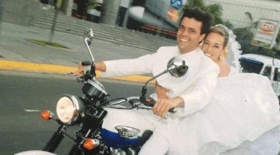 Leopoldo Lopez Lilian Tintori motorcycle Venezuela