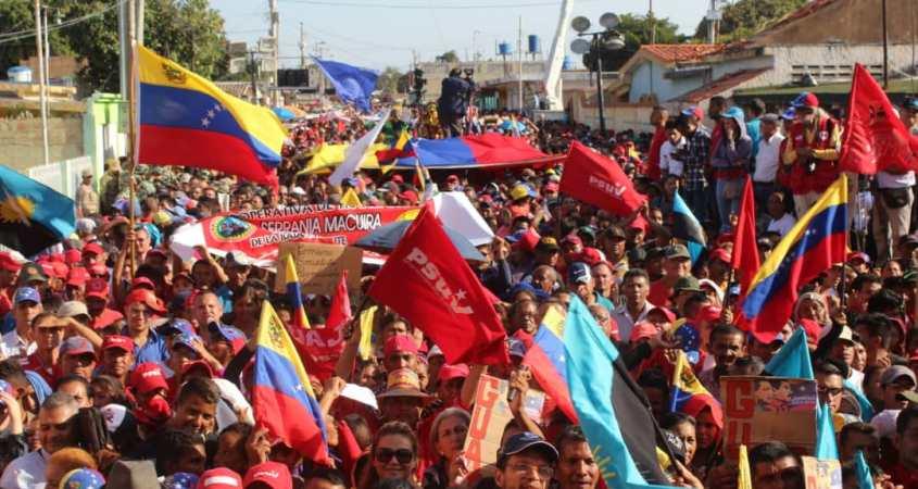 Venezuela protest pro government