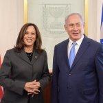 Kamala Harris Netanyahu