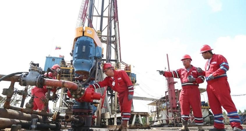 Venezuela oil workers PDVSA