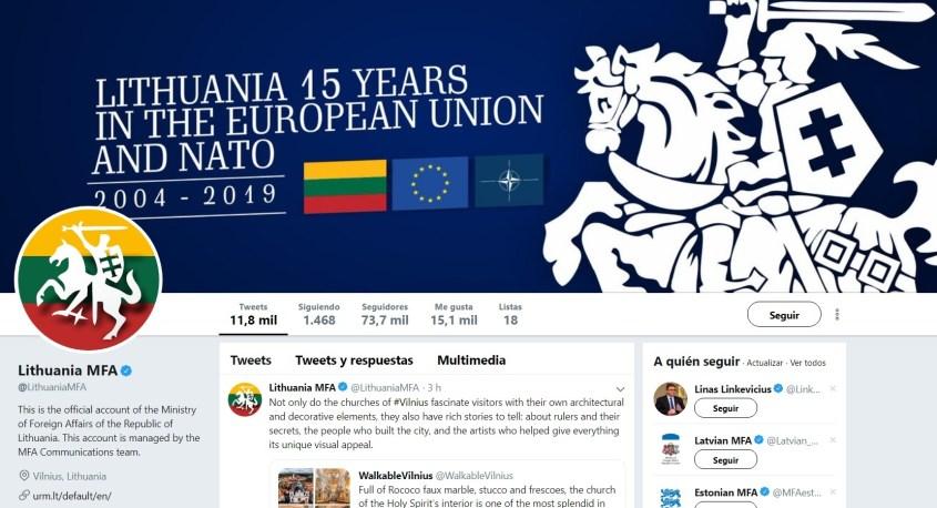 Lithuania foreign ministry EU NATO