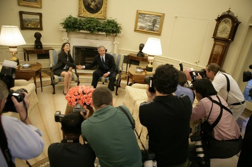 Maria Corina Machado George Bush White House