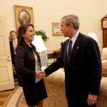 Maria Corina Machado George Bush