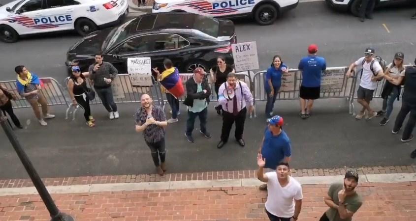 Washington DC embajada venezolana oposicion