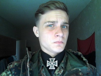 Andriy Dilly Krivich Ukrainian Nazi Right Sector