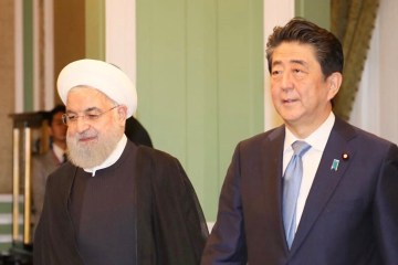 Shinzo Abe Japan Iran Hassan Rouhani