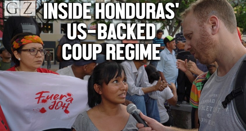 honduras us backed coup regime