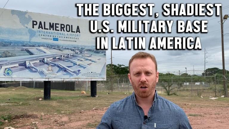 Palmerola air base Honduras
