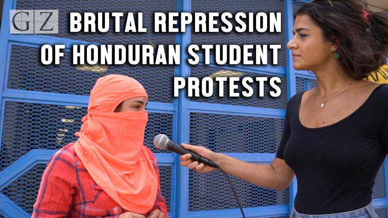 UNAH student occupation privatization