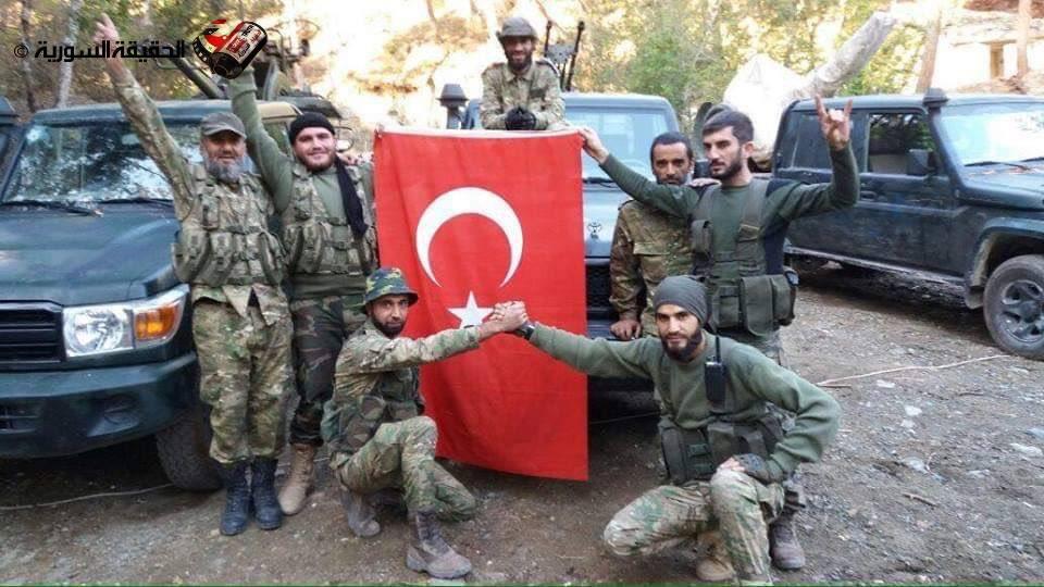 Estados Unidos ha respaldado a 21 de las 28 milicias 'locas' que lideran la brutal invasión de Turquía al norte de Siria