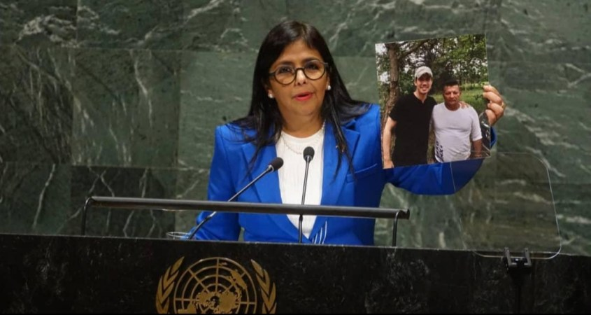 Venezuelan Vice President Delcy Rodriquez United Nations