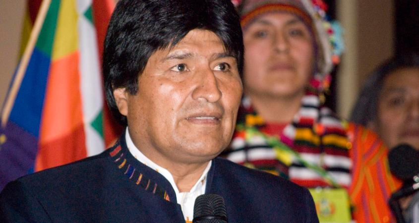 Evo Morales indigenous Bolivia