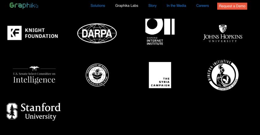 Graphika funding DARPA