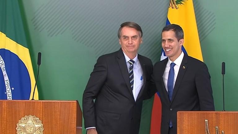 Venezuela Brazil attack Bolsonaro Guaido coup