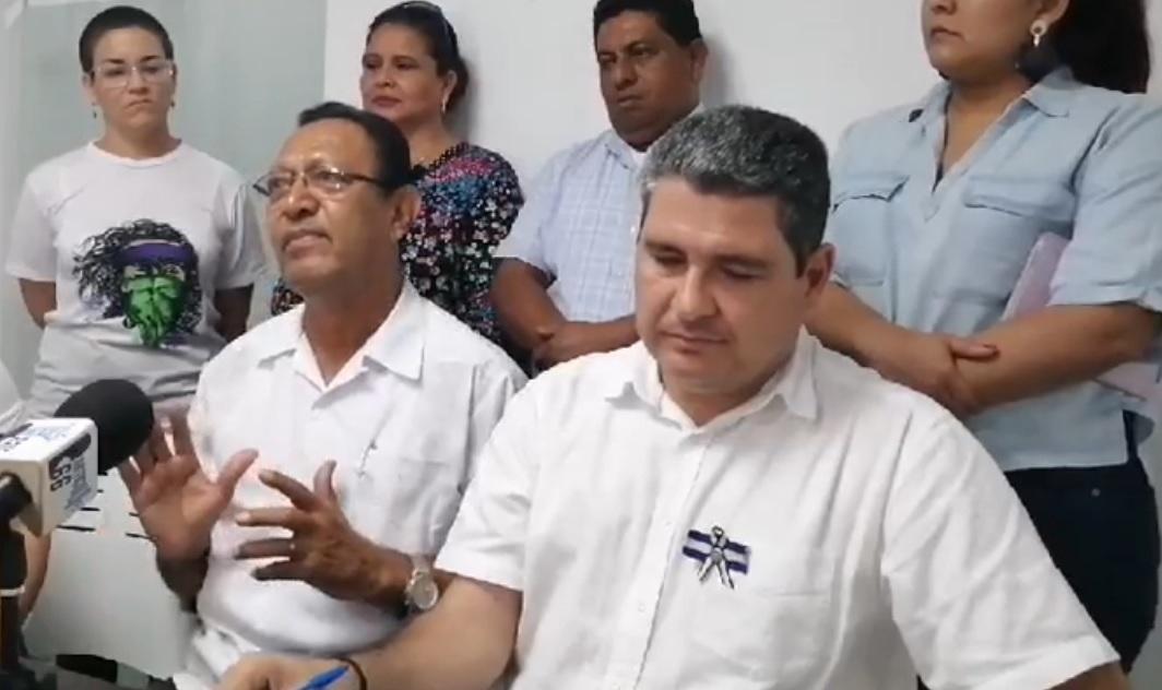 Nicaragua opposition US EU Saturnino Cerrato Civic Alliance