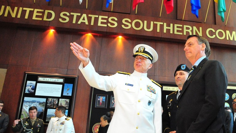 Bolsonaro US Southern Command Southcom