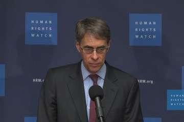 Human Rights Watch HRW Kenneth Roth sanctions regime change