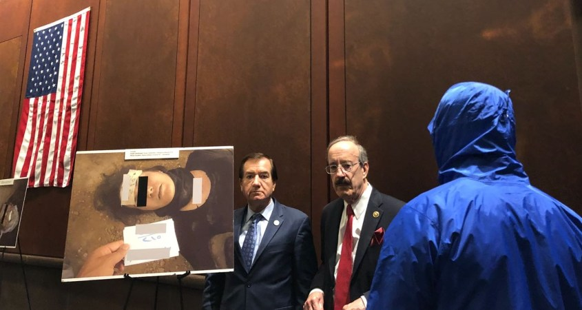 Caesar sanctions Syria US Congress Eliot Engel