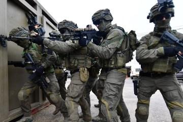 Israel police American training