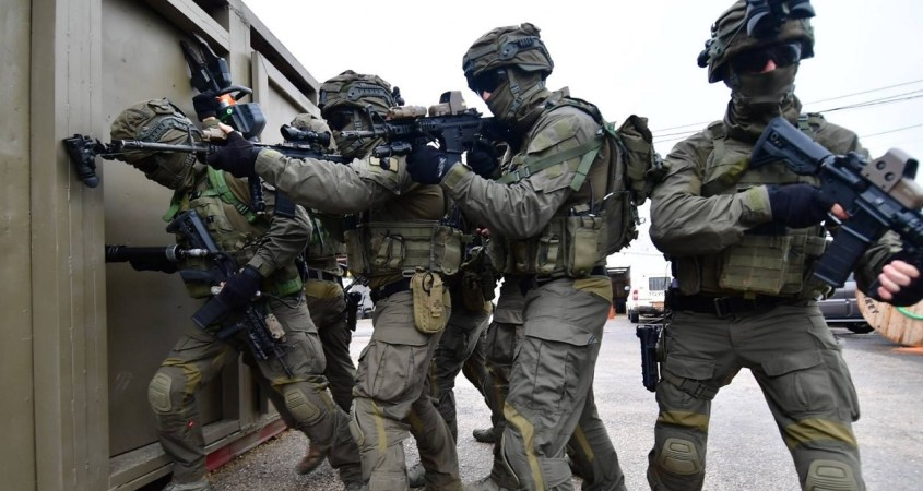 Israeli trained SWAT team