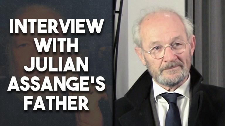 John Shipton interview Julian Assange