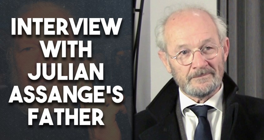 John Shipton interview Julian Assange