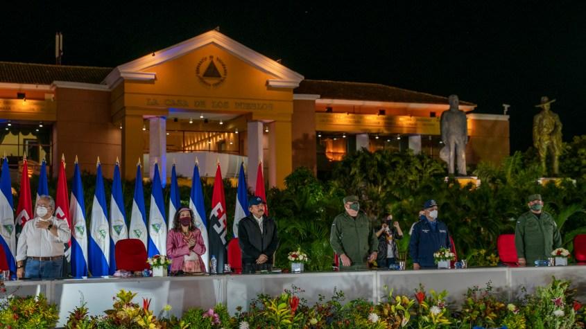 Nicaragua revolution 41 anniversary Ortega Murillo