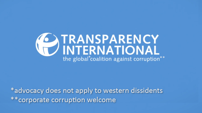 Transparency International Julian Assange