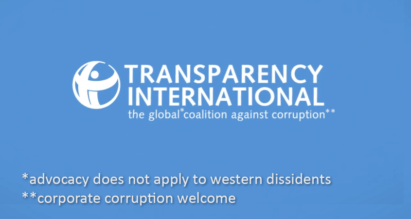 Transparency International Julian Assange
