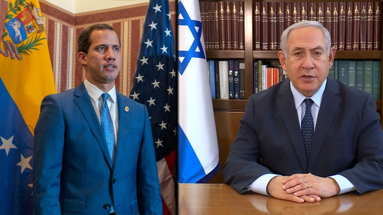 Venezuela Guaido Israel coup