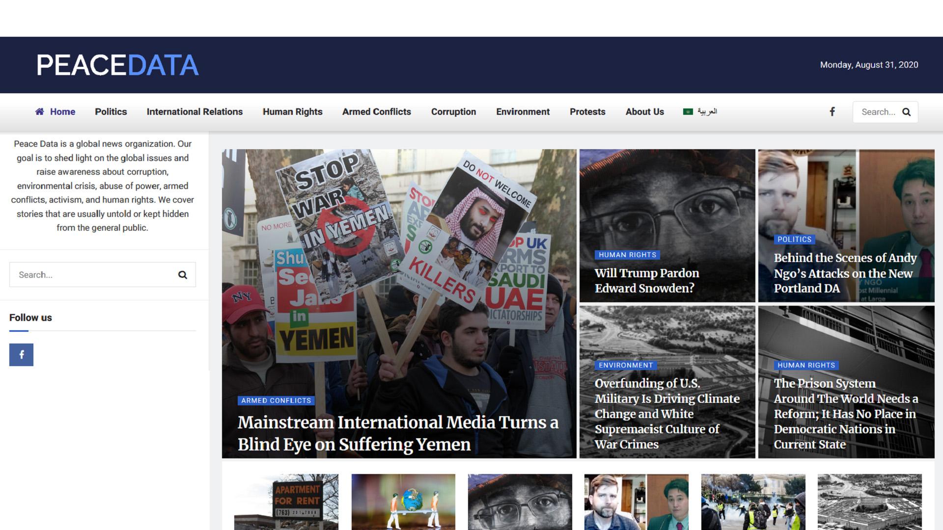 PeaceData Russia FBI US intelligence agencies