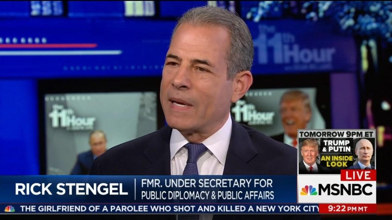 Richard Stengel MSNBC Russia propaganda censorship Biden