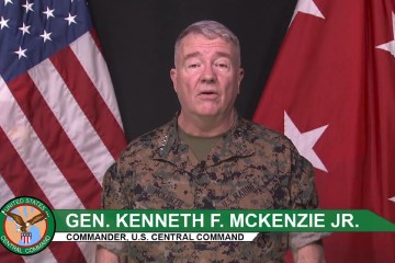 US Centcom General Kenneth McKenzie Iran