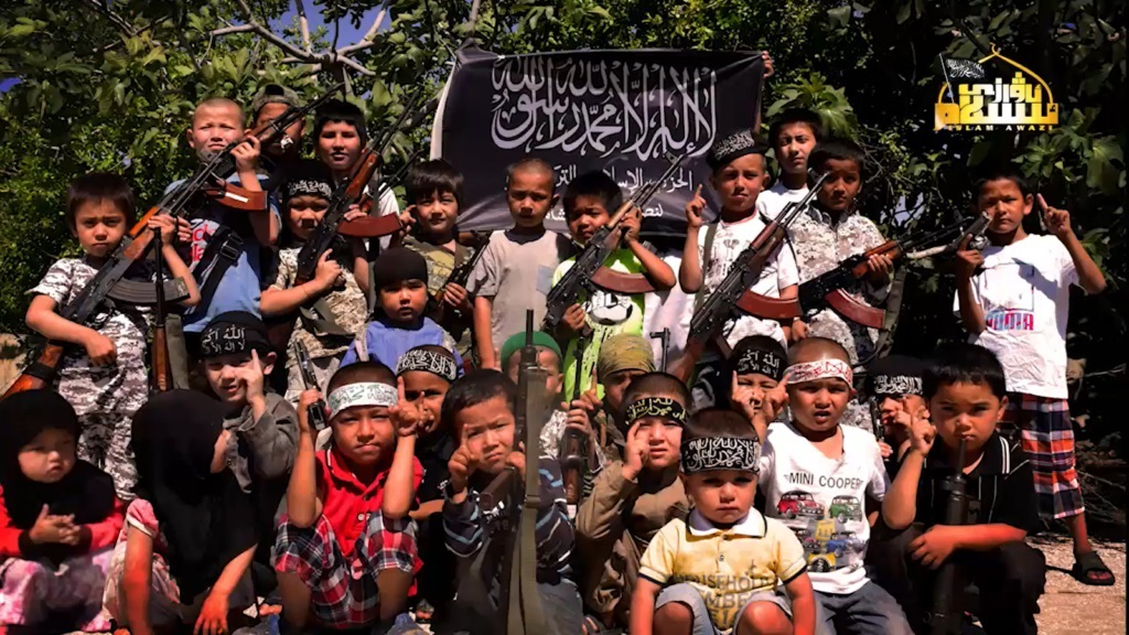 Uighur Turkistan Islamic Party TIP ETIM Syria children