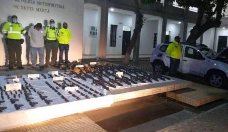 weapons Colombia Venezuela coup attempt Cliver Alcala