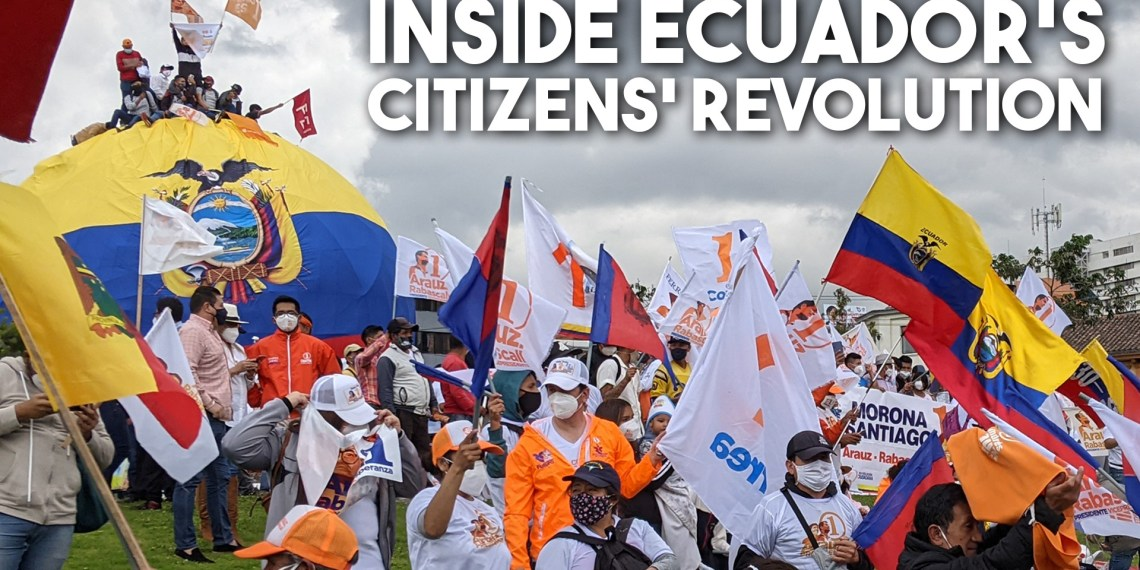 Ecuador Citizens Revolution election 2021